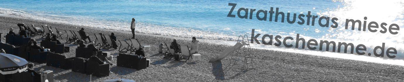 Zarathustras miese Kaschemme